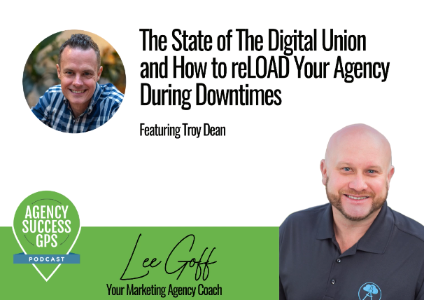 [PODCAST] – Troy Dean -State Of The Digital Union And How to reLOAD Your Agency During Down Times!