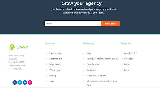 GoWP grow your agency