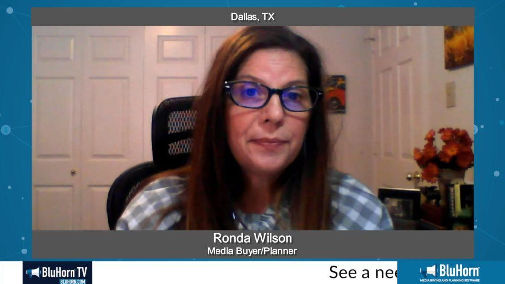 """Marketing Champions"" with Ronda Wilson, Media Buyer & Planner"