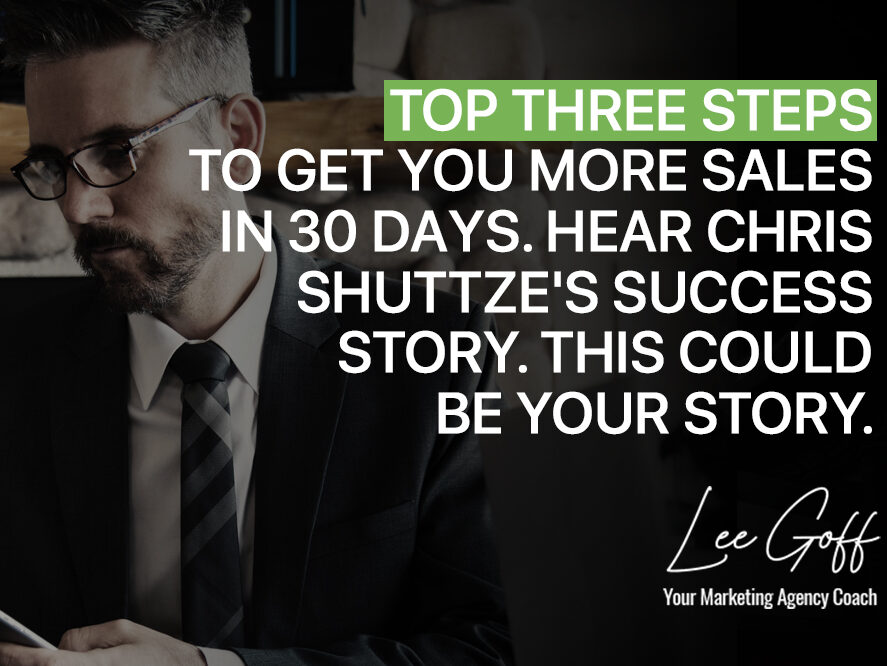 Need More Sales in The Next 30 Days? Top Three Proven Steps Fast Action Plan!
